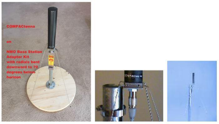 COMPACtenna Installation 7 inch models on BSAKIT