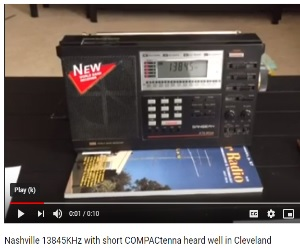 COMPACtenna Video Nashville SW Radio Screen Capture