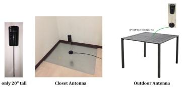 COMPACtenna Website 20in Antenna Closet and Outdoor Photos