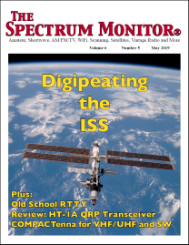COMPACtenna The Spectrum Monitor May 2019 FRONT PAGE