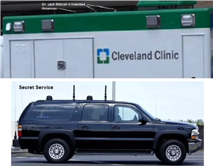 Dr. Jack Nilsson History - Invented Antennas on Cleve. Clinic Stroke, Secret Service Vehicles