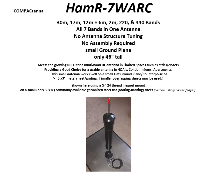 COMPACtenna Data Sheet HamR-7WARC 4.2.20 TOP Half