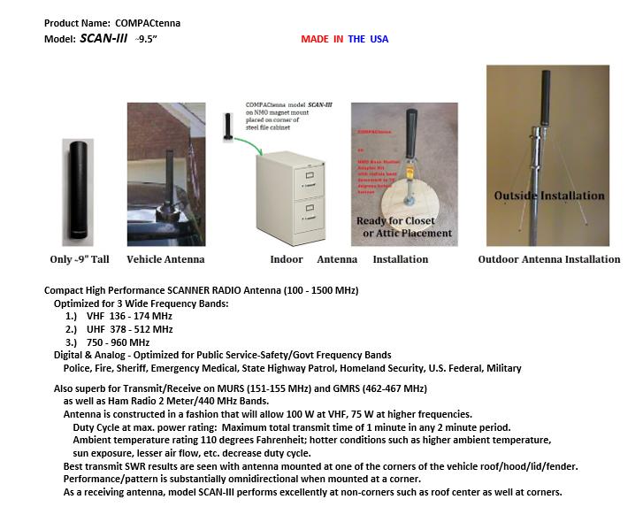 COMPACtenna Data Sheet SCAN-III TOP 4.1.20