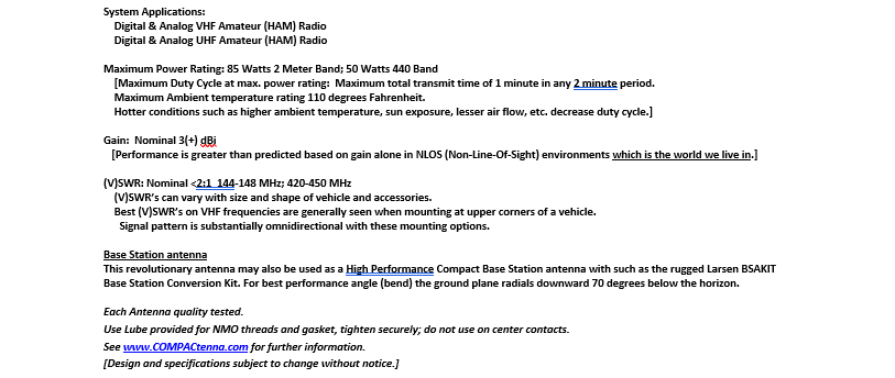 COMPACtenna Data Sheet 2M-440 7.4.20 BOTTOM HALF