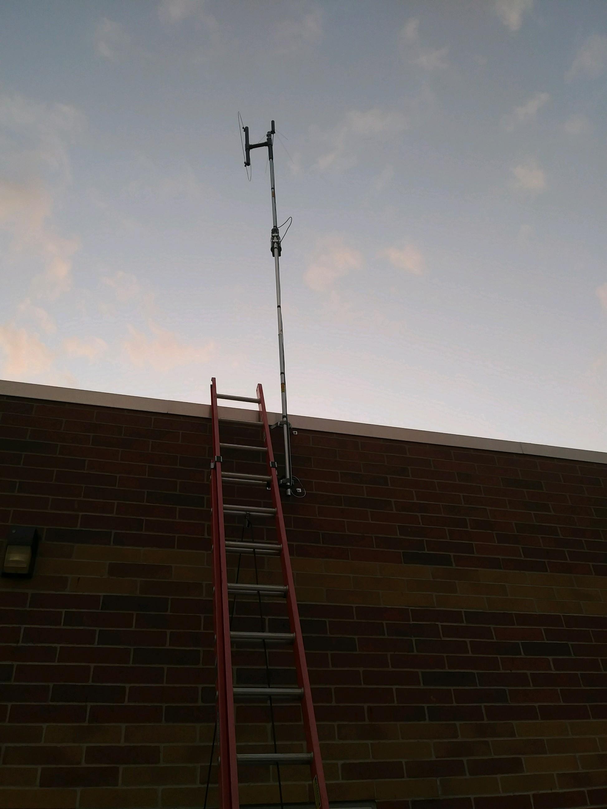 COMPACtenna 2 Meter micro-BEAM PHOTO at Heartland Radio