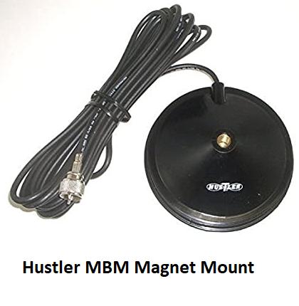 COMPACtenna Installation Hustler MBM Magnet Mount