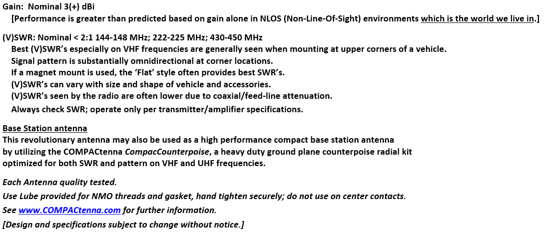 COMPACtenna Data Sheet 2M-220-440 8.23.21 BOTTOM THIRD
