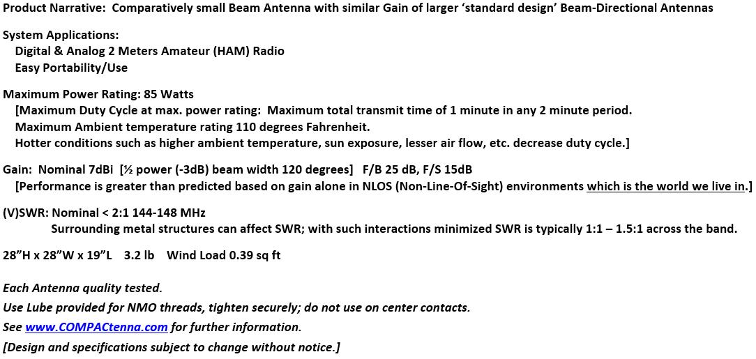 COMPACtenna Data Sheet 2M-microBEAM BOTTOM