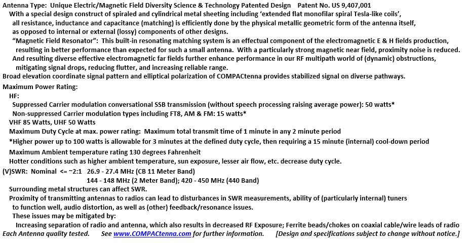 COMPACtenna Data Sheet CB-2M-440 BOTTOM 9.15.21