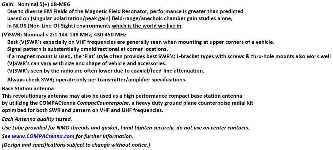 COMPACtenna Data Sheet 2M-440+ 10.1.21 BOTTOM
